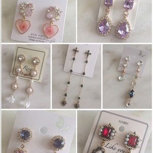 Korean Earrings Bundle